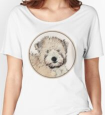 Soft-Coated Wheaten Terrier Puppy Women's Relaxed Fit T-Shirt