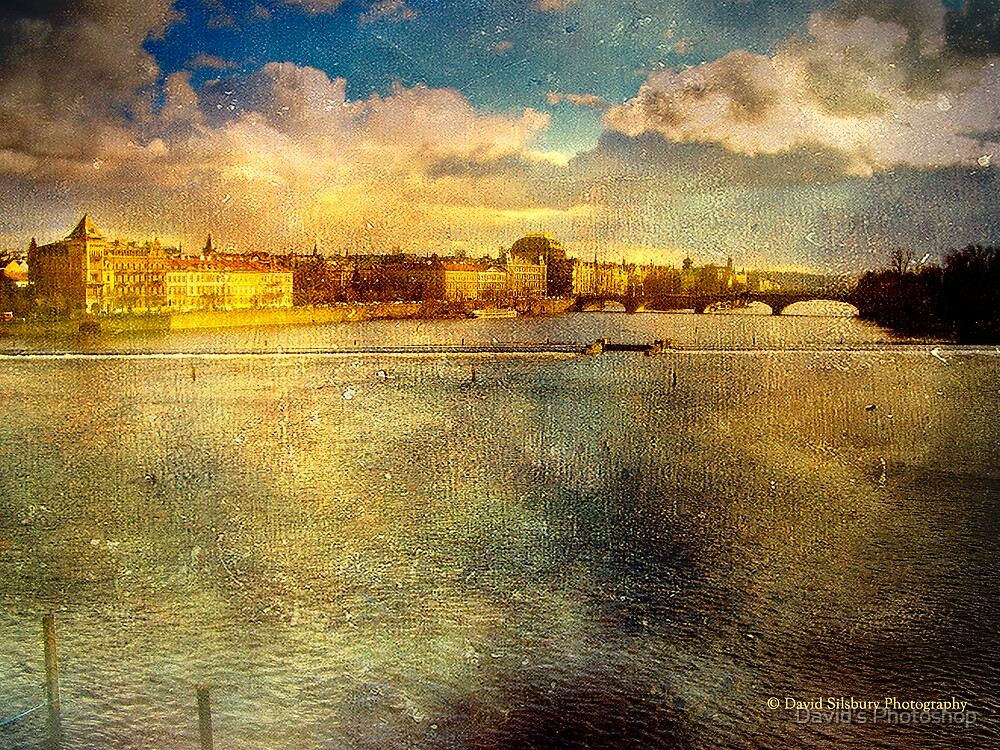 View from Charles Bridge, Prague by David's Photoshop
