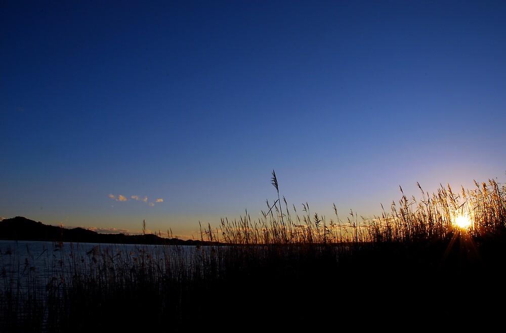 Sunset at Marlo by Joshdbaker