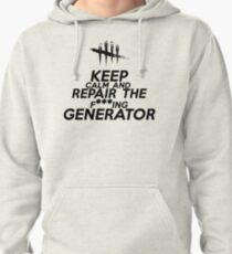 Dead By Daylight Keep Calm Pullover Hoodie