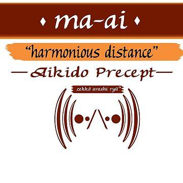 "Zekko Arashi Ryu ~ Aikido ~ ma-ai - ""harmonious distance"" by zekkoarashiryu"