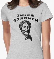 Inner Strength | Marcus Aurelius - Stoicism Women's Fitted T-Shirt
