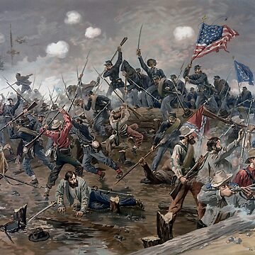The Battle of Spotsylvania Court House - Civil War by warishellstore