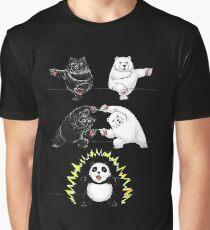 Panda Fusion Graphic T-Shirt