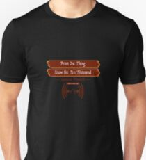 "Zekko Arashi Ryu ~ Samurai ~ ""From one thing, know the ten thousand""    Unisex T-Shirt"