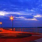 Shorncliffe Pier by Helen Martikainen