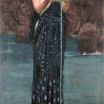 Circe Invidiosa - John William Waterhouse by themasters