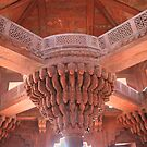 Interior at Fatehpur Sikri. by pennyswork