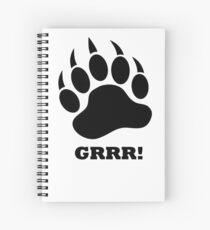 GRR! Spiral Notebook