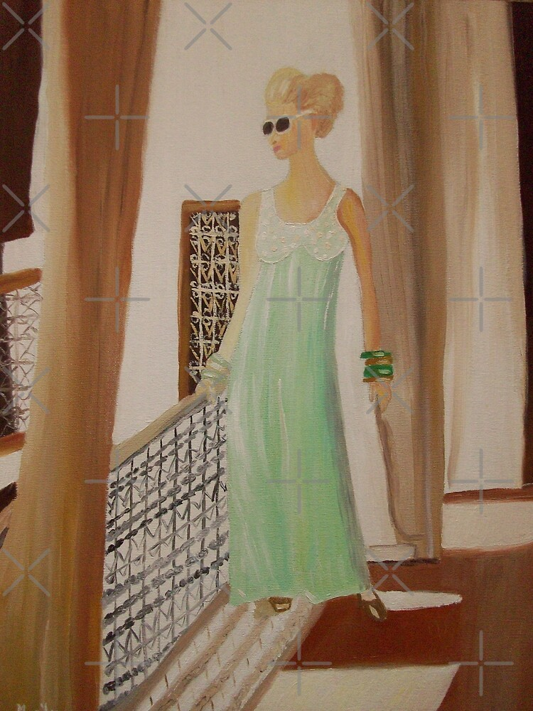Lady in waiting by Monika Howarth