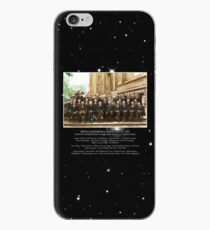 1927 Solvay Conference (deep space NGC3660 bg), posters, prints iPhone Case
