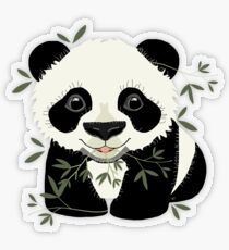 Panda Transparent Sticker