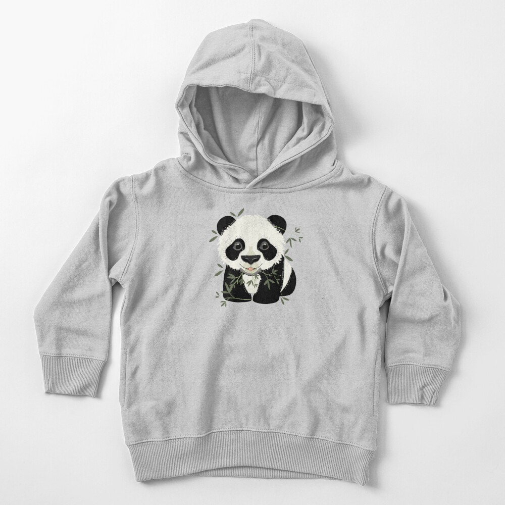 Panda Toddler Pullover Hoodie