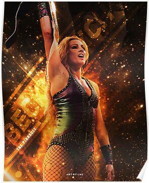 Becky Lynch | Pinnacle | Artwork Poster
