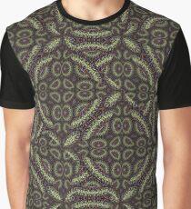 Psychedelic 3D mandala  Camiseta gráfica