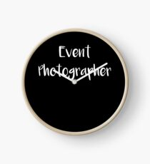 Photographer Event Photographer Clock