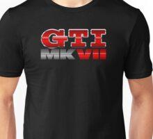 VW GTI MK7 Icon Unisex T-Shirt