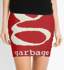 pink garbage band tour 2018 2019 logo duasatu Mini Skirt