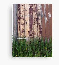 Facing Due West Canvas Print