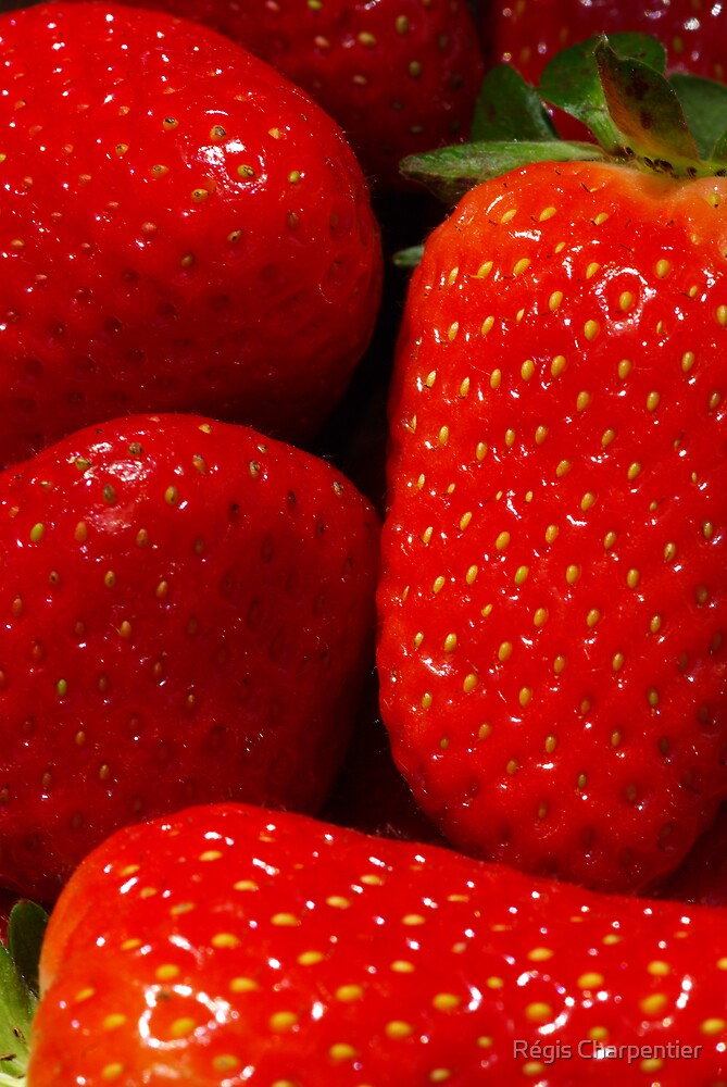 Strawberries by Régis Charpentier