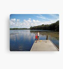 Martin Lake Parker, Florida Canvas Print