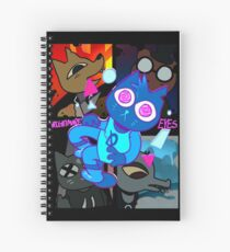 Nightmare Eyes Spiral Notebook