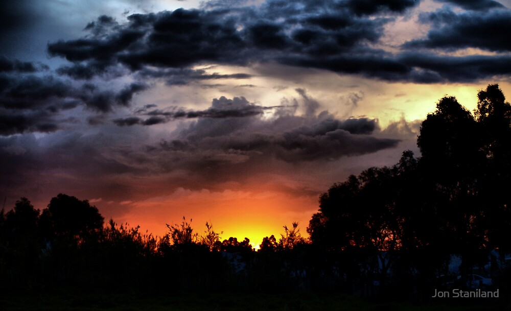 Urban Sunset by Jon Staniland