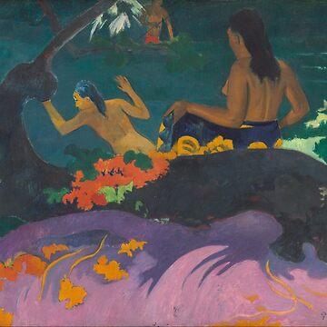 By the Sea (Fatata te miti) - Paul Gauguin by themasters