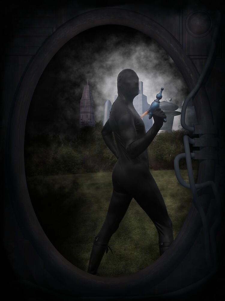 Zentai Ray Gun 2 by mdkgraphics