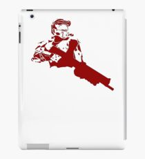 Halo Master Chief red iPad Case/Skin