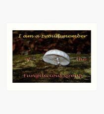 Member banner Fungilicious Group Art Print