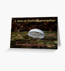 Member banner Fungilicious Group Greeting Card