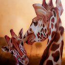 Giraffe Baby by WishesandWhims