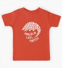 Rette die Pangolins, Pangolin lebt von Bedeutung Kinder T-Shirt