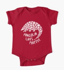 Rette die Pangolins, Pangolin lebt von Bedeutung Baby Body Kurzarm