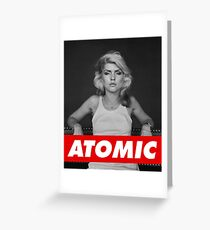 Atomic Greeting Card