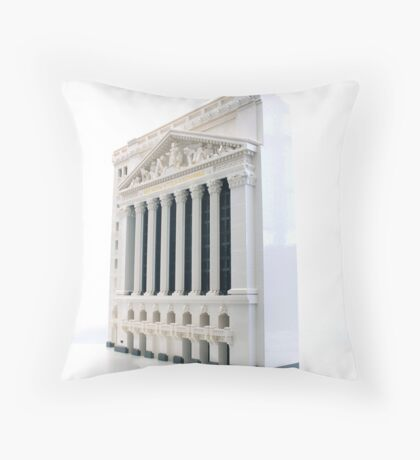 NYSE Throw Pillow