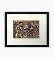Sports Legends Framed Print