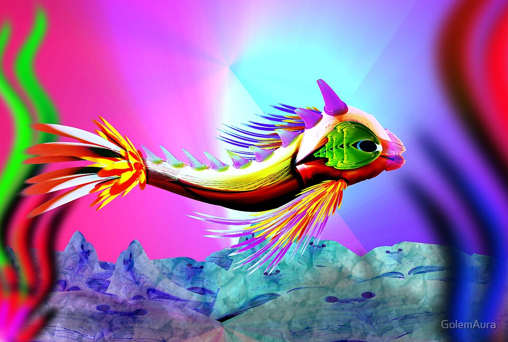 Garish Fish by GolemAura