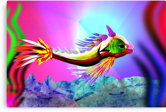 Garish Fish by GolemAura