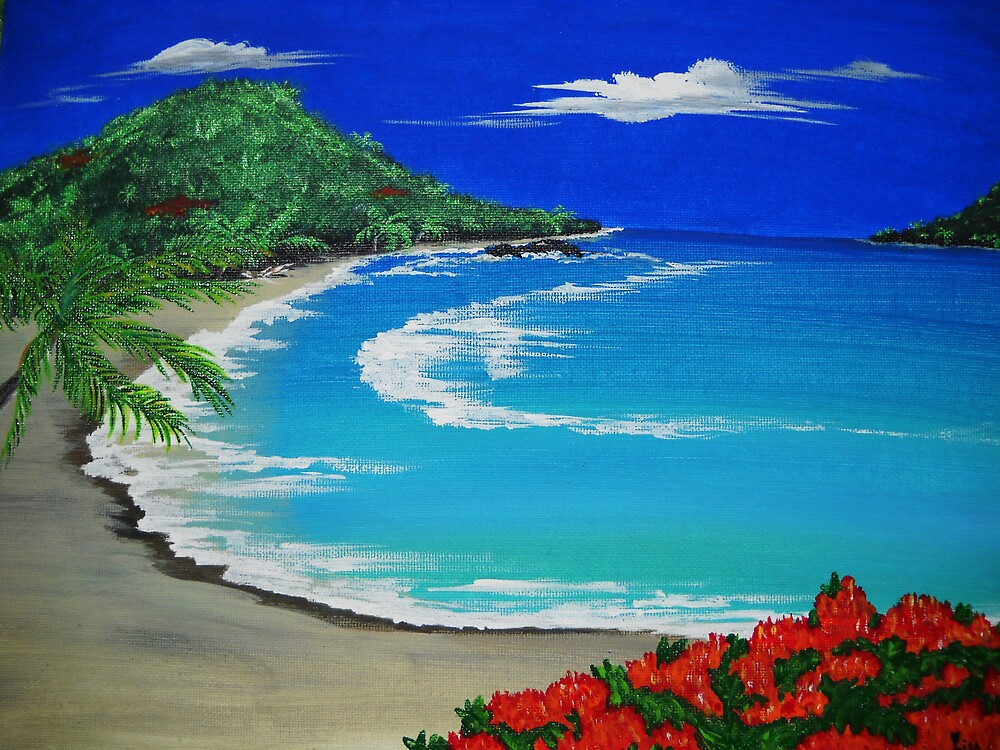 Caribbean Blue by sweetatsea