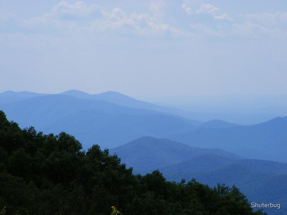 Blue Ridge Mountains by Shuterbug