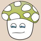 Sad Mushroom by Airon Roosalu