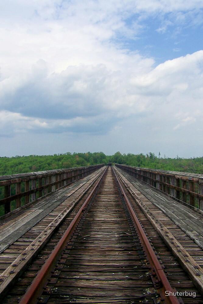old rails by Shuterbug