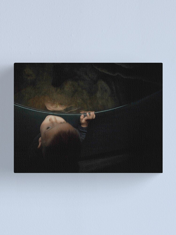 Alternate view of Face of Discovery Canvas Print