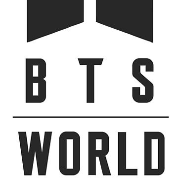 BTS Love Yourself World Tour Merch - Simple Black by bocaheturuc