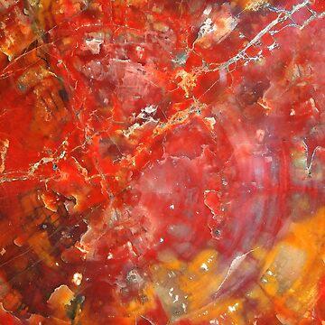 Sunset Splatter Stones by Falln