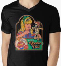 My First Voodoo Doll Men's V-Neck T-Shirt