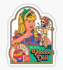 My First Voodoo Doll Sticker