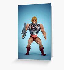 He-Man (battle damage) Greeting Card